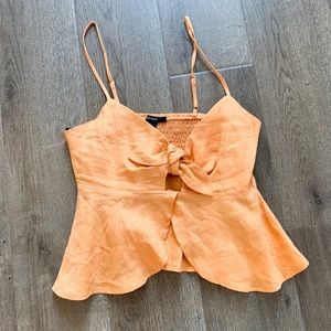 Tops - Burnt Orange Tank Top